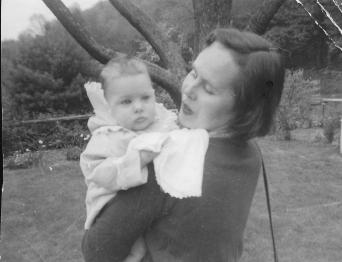Laura Hurwitz and mom
