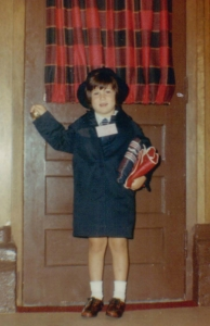 Felicia Chernesky first day of school 1969 smaller