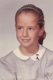 Nancy Viau ponytail school pic