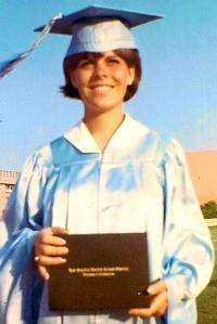 Sherry Shahan back to school graduation 2