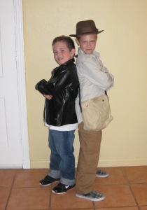 Lori Houran boys Halloween