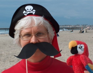 Nancy Sanders Pirate