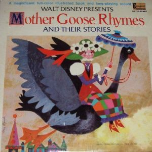 walt disney mother goose recording