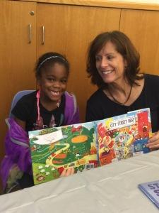 Nancy Viau with student