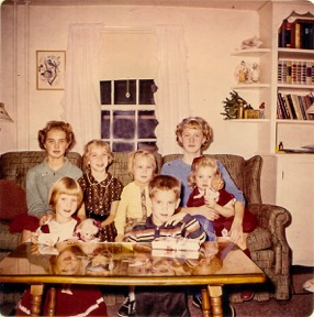 Nancy I. Sanders and family