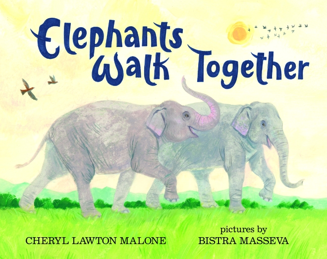 Elephants Walk Together_CVR